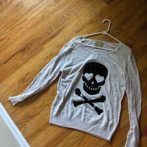 Wildfox skull sweater